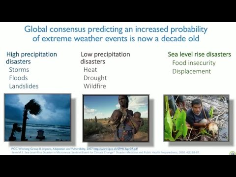 Panel - Connecting Climate Change and Public Health State of the Science (Climate & Health Meeting)