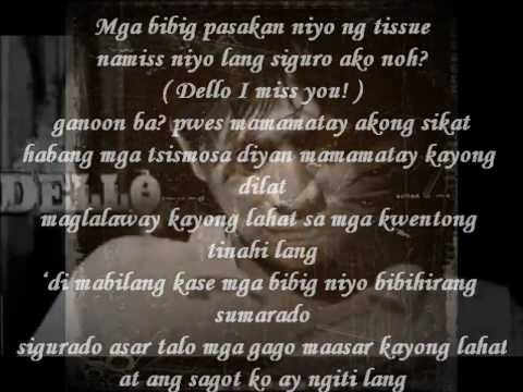 The Cheesy Song by Dello with lyrics