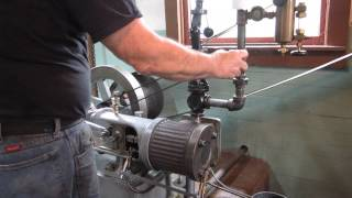 OLD TIME STEAM POWERED MACHINE SHOP