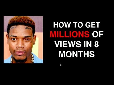 Music marketing - How Fetty Wap got millions of views in 8 months