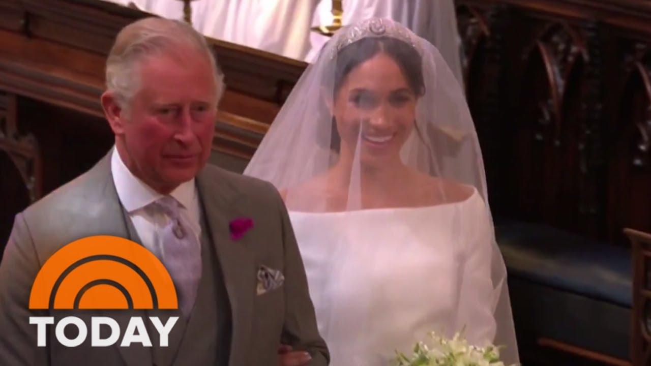 Royal Wedding See Meghan Markle Walk Down The Aisle Today