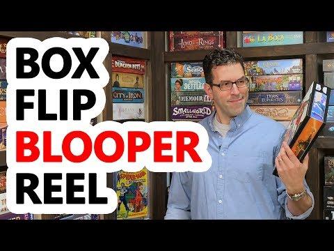 The Box Flip Blooper Reel!