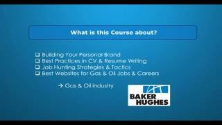 CV Writing In Gas And Oil Industry