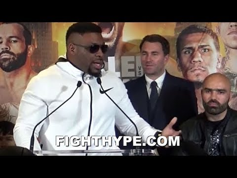 "JARRELL MILLER VOWS TO MAKE ""CABBAGE ROLL"" OUT OF BOGDAN DINU; WARNS GUNNING FOR AGGRESSIVE KO"
