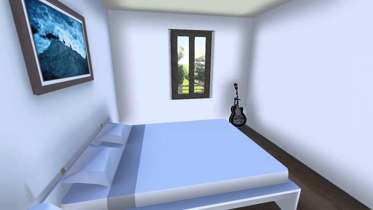 Exemple de maison Type 5 (4 chambres) - YouTube