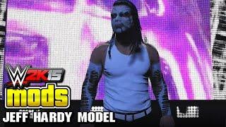 WWE 2K15 PC Mods - Jeff Hardy Entrance with Titantron