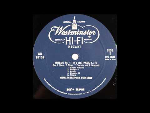 mozart, serenade no 11, VIENNA PHILHAMONIC WIND GROUP