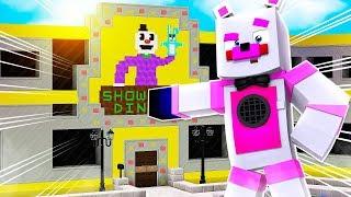 Exploring Showmans Diner! Minecraft FNAF Roleplay