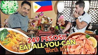 all    filipino food    buffet   omg so cheap    kamayan sa baguio