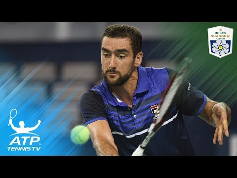 Isner, del Potro, Cilic hang tough to win | Shanghai Rolex Masters 2017 Highlights Day 2