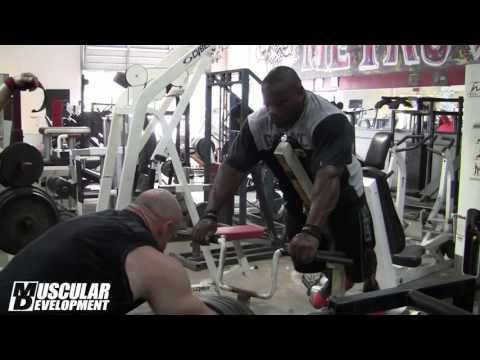 Джонни О Джексон и Брэнч Уоррен - тренировка спины | смотреть клипы мотивация к спорту