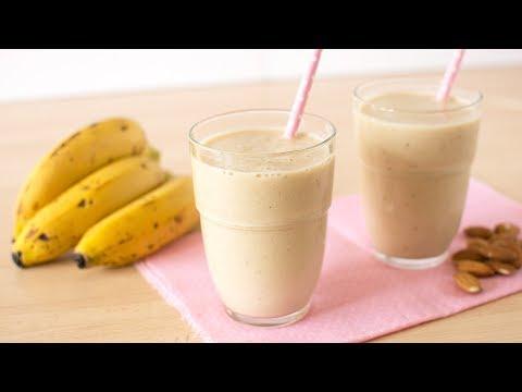 Banana Oatmeal Smoothie - Healthy Banana Breakfast Smoothie Recipe