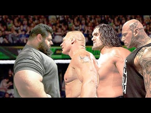 Sajad Gharibi Vs Brock Lesnar Martyn Ford The Great Khali