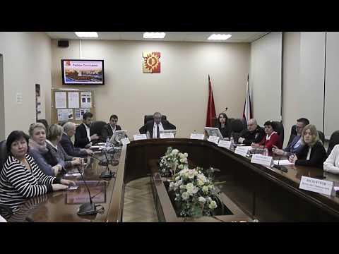 Встреча главы управы района Солнцево с населением 15.01.2020 (ч. 1)