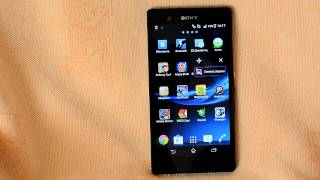 Как сделать скриншот на Xperia Z Android 4.3 / How to make a screenshot Xperia Z Android 4.3