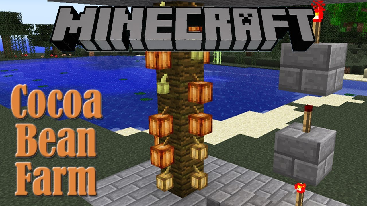 Cocoa Bean Farm Tutorial - Minecraft