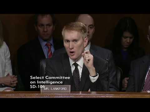Senator Lankford Discusses Russian Investigation at Intelligence Hearing