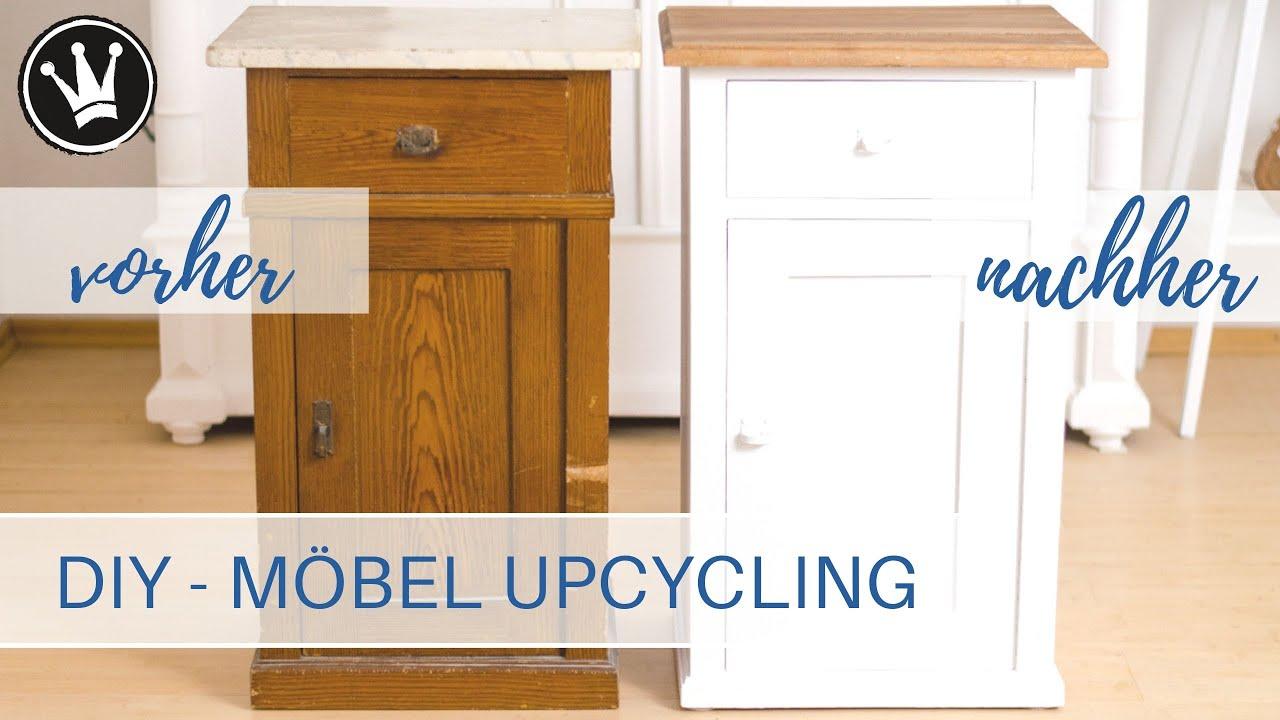 Diy Mobel Upcycling Mit Kreidefarbe Streichen Holz Olen