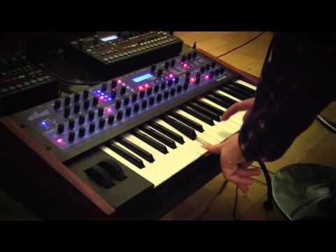 DSI Mono Evolver Keyboard - 5 Live Experimental Sequences...