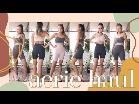 NEW IN AERIE OFFLINE UNBOXING HAUL - Review & Try On | Victoria Hui