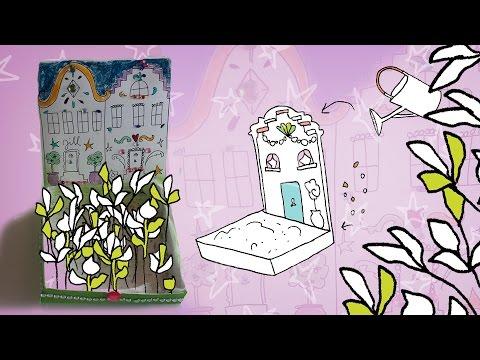Jill Diy Kruidenkastje Maken Voor Jouw Moestuintje Youtube