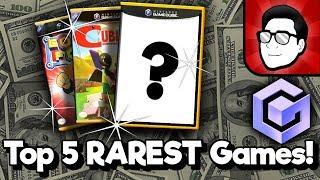 Top 5 RAREST GameCube Games!