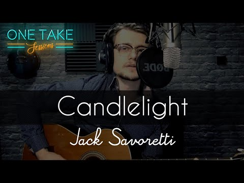 Jack Savoretti - Candlelight - Acoustic Cover By JACK - One Take Sessions