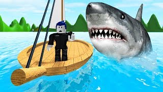 SURVIVE THE SHARK CHALLENGE! (Roblox)