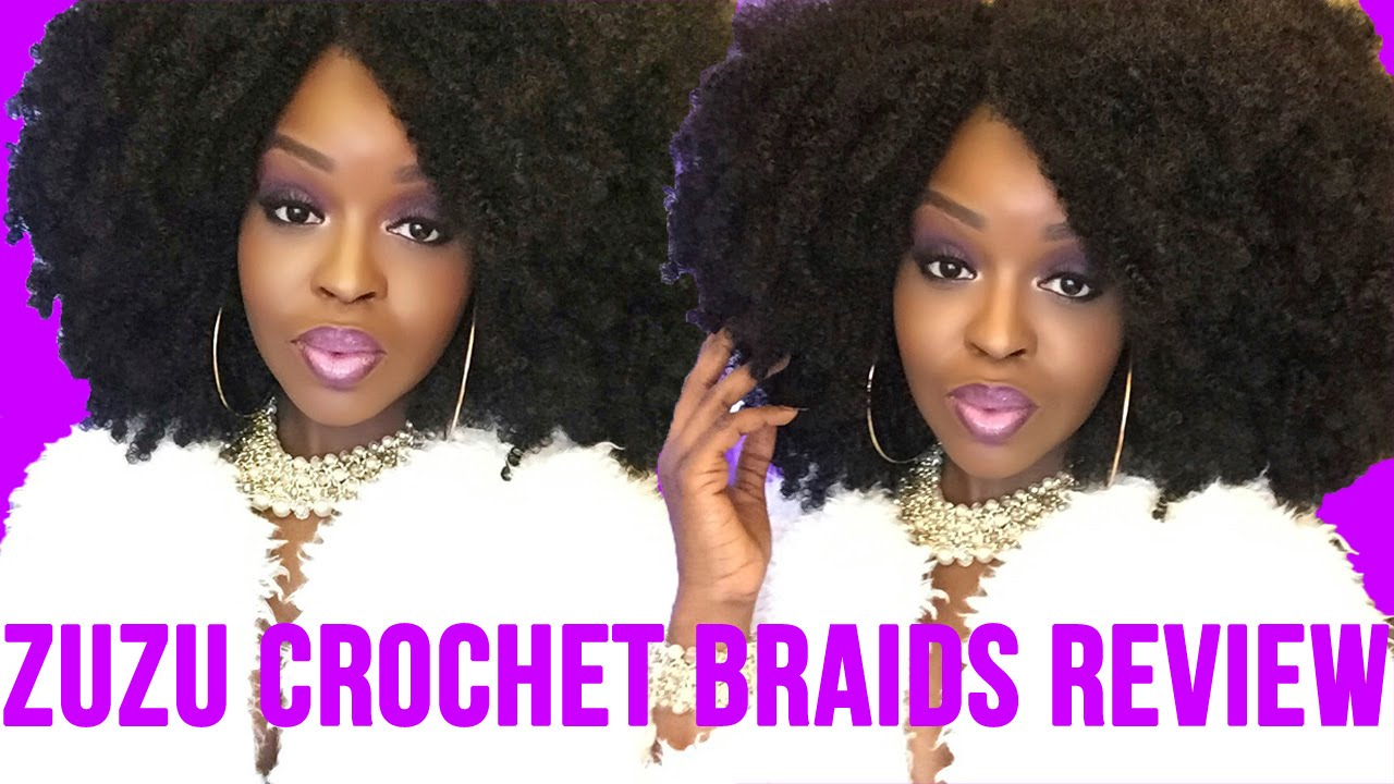 Zuzu Crochet Hair : Zuzu Crochet Braids Review BEST Kinky Natural 4a 4b 4c Hair ...