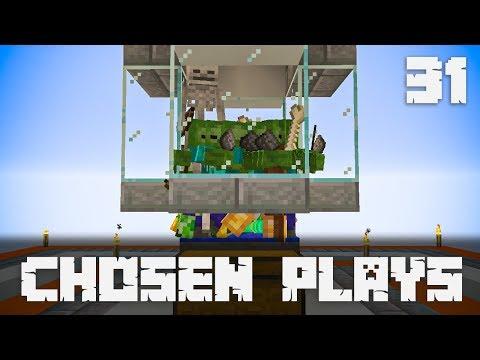 Chosen Plays Minecraft 1.14 Ep. 31 Easy Overworld Mob Spawner