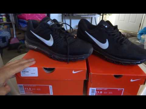 Nike Men's Air Max 2017 Running Shoes (7.5 (M) US, BlackWhiteAnthracite)