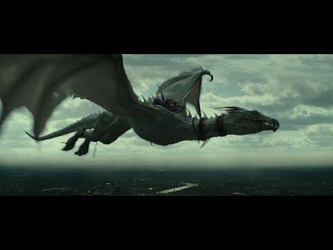 Гарри Поттер и Дары Смерти: Часть II \ Гарри сбегает из банка на драконе.