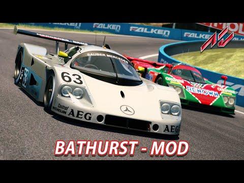 Bathurst MOD   Assetto Corsa [GER] [T500RS] Sauber C9 @ Mount Panorama Circuit