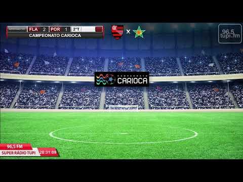 Flamengo x Portuguesa-RJ - Campeonato Carioca - Taça Rio - 3ª Rodada - 14/03/2020 - AO VIVO