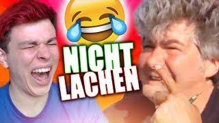 (Ich breche weg) Nicht Lachen Challenge | YouTube-Kacke Edition