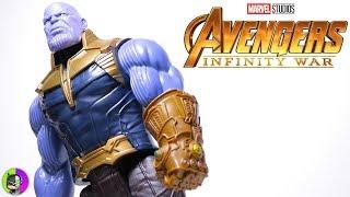 """THANOS"" Titan Hero Series Power FX Figure Review | Avengers Infinity War"