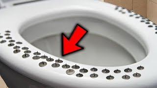 Top 5 Funniest Toilet Pranks On YouTube! Tacks On Toilet, Super Glue Prank & More