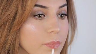 Как сделать легкий вечерний макияж. Урок от Рукият Акаевой
