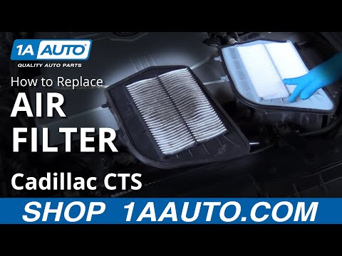 How to Replace Engine Air Filter 03-07 Cadillac CTS