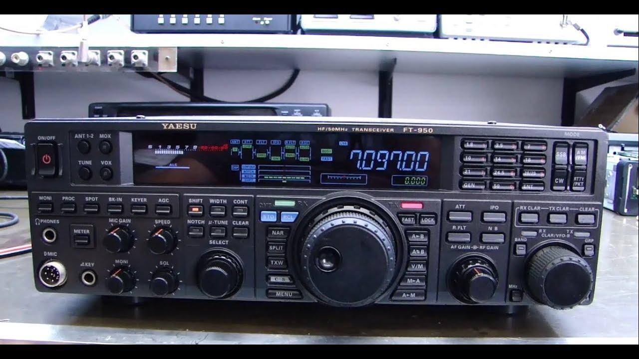 ALPHA TELECOM: YAESU FT-950 DISPLAY COMPLETAMENTE APAGADO e REVISÃO