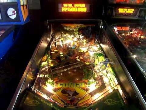 Congo pinball Machine