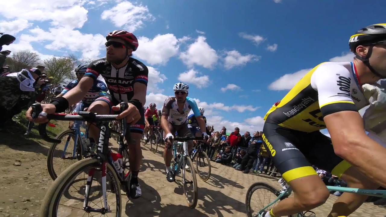 The Best On bike Footage from 2016 Paris Roubaix!