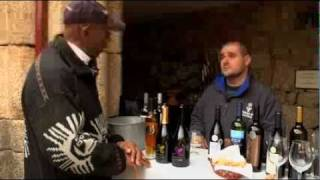 GlobeTrotter Jon Haggins TV in Porto, Portugal for Wine Tasting