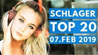 SCHLAGER CHARTS 2019 - Die TOP 20 vom 07. Februar