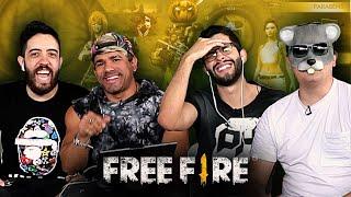 RATÃO E PATIFE NO FREE FIRE DO FINAL LEVEL