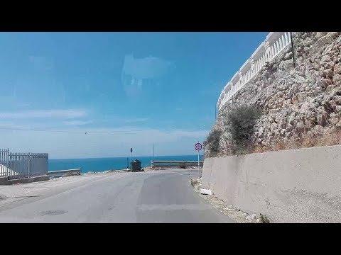 Palma Di Montechiaro - Strade Parte 15  - A Marina Di Palma - Andata - 2017