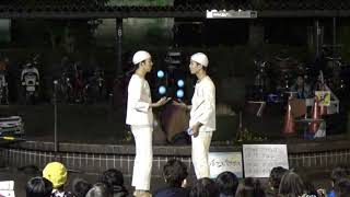 大道芸ワールドカップ in 静岡 2018 ホワイトアスパラガス