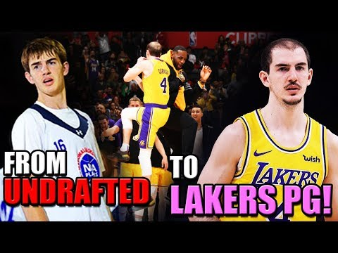 The HEARTBREAKING Story Of Alex Caruso: From UNDRAFTED To LAKERS Future Point Guard!