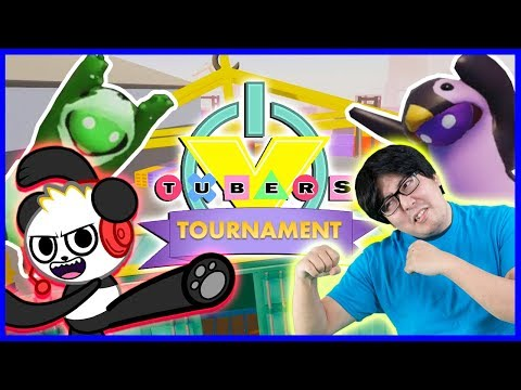 GANG BEASTS Tournament Ep 3 Let's Play with Sean Vs Combo Panda