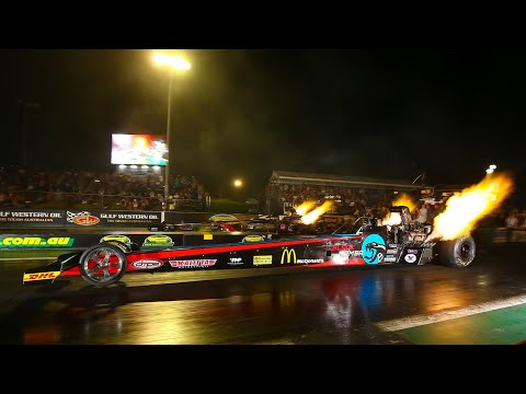 Top Fuel, New Year Thunder, Willowbank Raceway - January 4, 2020